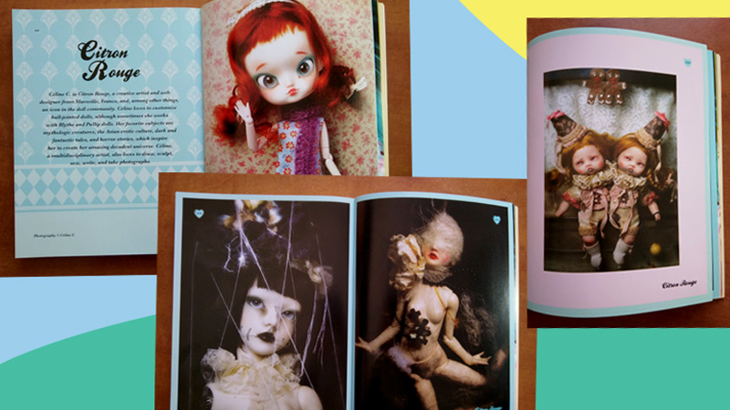 """Collectif """"The Doll Scene, an international collection of crazy, cool, custom-designed dolls"""", Louis Bou, éd. Rockport"""